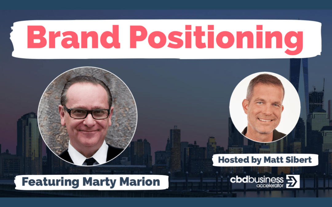 Brand Positioning – Marty Marion